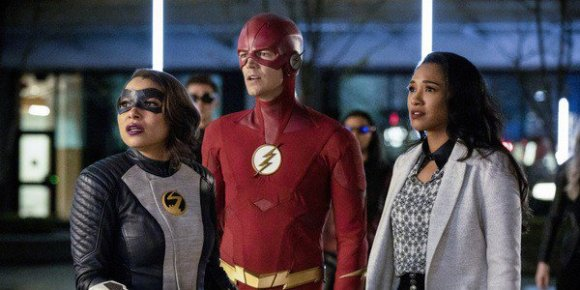 The Flash cw characters